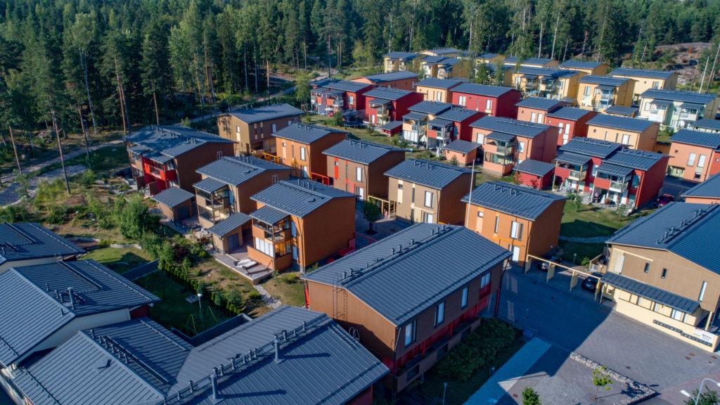 Asunto Oy Helsingin Myllykylänmäki ilmakuva