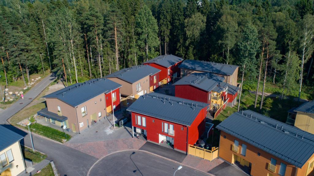 Asunto Oy Helsingin Myllynpuisto ilmakuva