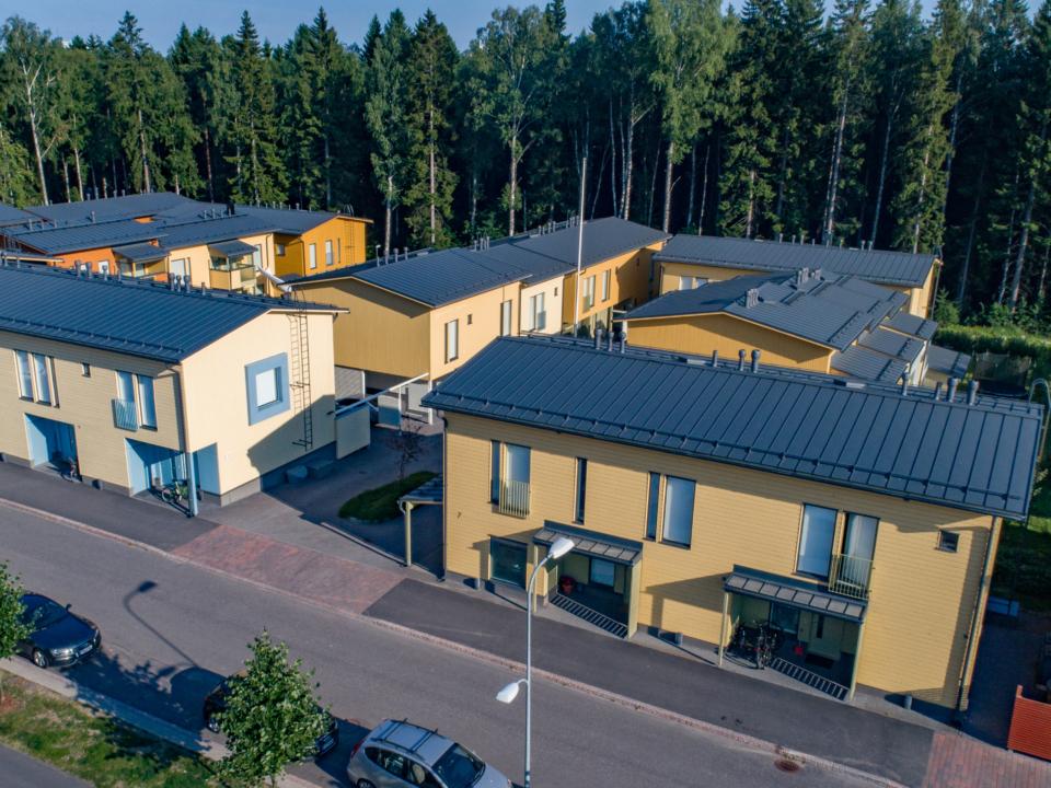 Asunto Oy Helsingin Myllyntähkä ilmakuva